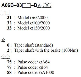 FANUC CNC MOTOR