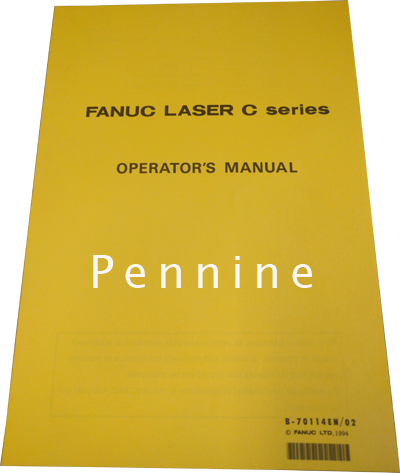 Fanuc Laser C Series Operators Manual B70114EN/02